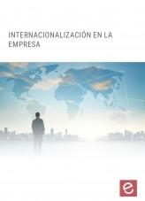 Libro Internacionalización en la empresa, autor Editorial Elearning