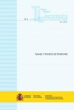 """Libro TEXTO LEGAL Nº 5/2020 """"PLANES Y FONDOS DE PENSIONES"""", autor Libros del Ministerio de Hacienda"""