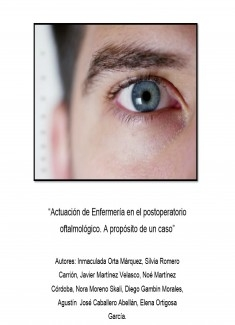 Actuación de Enfermería en el postoperatorio oftalmológico. A propósito de un caso