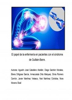 El papel de la enfermería en pacientes con el síndrome de Guillain-Barre.