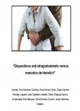 Dispositivos anti-atragantamiento versus  maniobra de Heimlich
