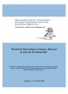 """""""Síndrome Neurológico Literario: Alicia en el País de las Maravillas"""""""
