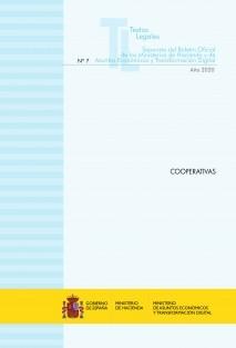 """TEXTO LEGAL Nº 7/2020 """"COOPERATIVAS"""" (Actualización octubre 2020)"""