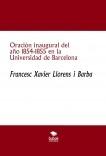 Oración inaugural del año 1854-1855 en la Universidad de Barcelona