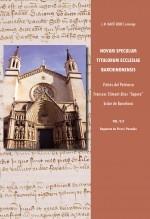 "Libro Novum Speculum Titulorum Ecclesiae Barchinonensis vol. V/2 Visites del Patriarca Francesc Climent àlies ""Sapera"" bisbe de Barcelona, autor José María Martí Bonet"