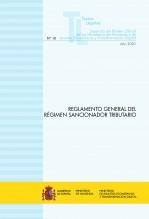 """Libro TEXTO LEGAL Nº 10/2020 """"REGLAMENTO GENERAL DEL RÉGIMEN SANCIONADOR TRIBUTARIO"""" (Actualización noviembre 2020), autor Libros del Ministerio de Hacienda"""