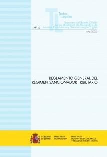 """TEXTO LEGAL Nº 10/2020 """"REGLAMENTO GENERAL DEL RÉGIMEN SANCIONADOR TRIBUTARIO"""" (Actualización noviembre 2020)"""