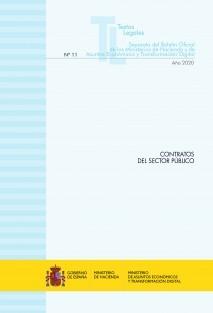 """TEXTO LEGAL Nº 11/2020 """"CONTRATOS DEL SECTOR PÚBLICO"""" (Actualización diciembre 2020)"""