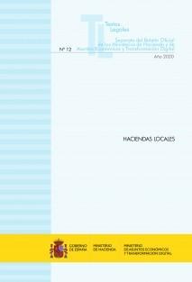 "TEXTO LEGAL Nº 12/2020 ""HACIENDA LOCALES"" (Actualización diciembre 2020)"