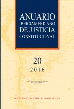 Libro Anuario Iberoamericano de Justicia Constitucional, nº 20, 2016, autor EDITORIALCEPC
