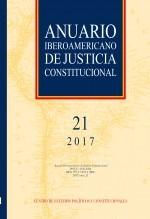 Libro Anuario Iberoamericano de Justicia Constitucional, nº 21, 2017, autor EDITORIALCEPC