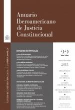 Libro Anuario Iberoamericano de Justicia Constitucional, nº 22, 2018, autor EDITORIALCEPC