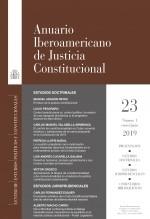 Libro Anuario Iberoamericano de Justicia Constitucional, nº 23-1, enero-junio, 2019, autor EDITORIALCEPC