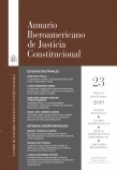 Anuario Iberoamericano de Justicia Constitucional, nº 23-2, julio-diciembre, 2019
