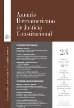 Libro Anuario Iberoamericano de Justicia Constitucional, nº 23-2, julio-diciembre, 2019, autor EDITORIALCEPC