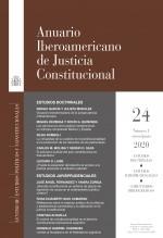Libro Anuario Iberoamericano de Justicia Constitucional, nº 24-1, enero-junio, 2020, autor EDITORIALCEPC