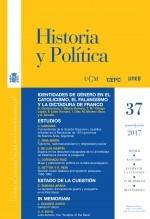 Libro Historia y Política, nº 37, enero-junio, 2017, autor EDITORIALCEPC