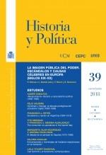Libro Historia y Política, nº 39, enero-junio, 2018, autor EDITORIALCEPC