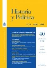 Libro Historia y Política, nº 40, julio-diciembre, 2018, autor EDITORIALCEPC