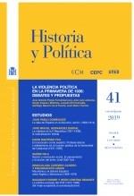 Libro Historia y Política, nº 41, enero-junio, 2019, autor EDITORIALCEPC