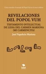Libro Revelaciones del Popol Vuh, autor NapoleonMariona