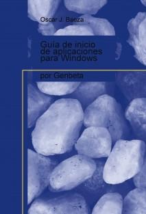 Guía de inicio de aplicaciones para Windows