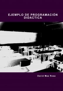 EJEMPLO DE PROGRAMACIÓN DIDÁCTICA