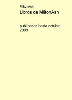 Libros de MiltonAsh