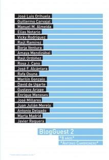 BlogGuest 2, 8 años