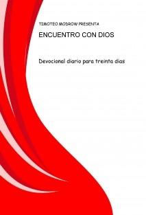 ENCUENTRO CON DIOS
