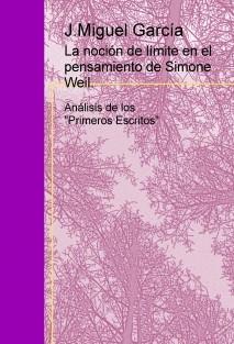 La noción de límite en el pensamiento de Simone Weil. Primeros escritos