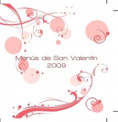 Menús de San Valentín