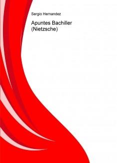 Apuntes Bachiller (Nietzsche)