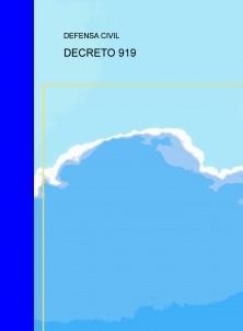 DECRETO 919