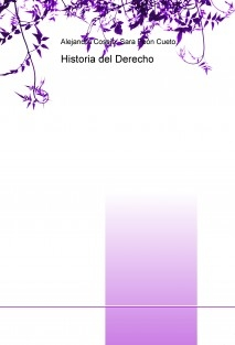 Apuntes Historia del Derecho- 1er Curso