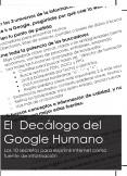 El Decálogo del Google Humano para particulares