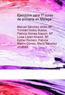 Ejercicios para 1º curso de primaria en Málaga