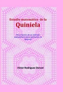 Estudio matemático de la Quiniela