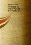 APUNTES DE VALORACIONES INMOBILIARIAS