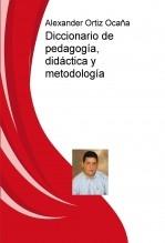 Diccionario de pedagogía, didáctica y metodología
