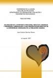 VALORACIÓN DE LA RESPUESTA EMOCIONAL NEGATIVA (ANSIEDAD Y DEPRESIÓN) SUBSIGUIENT