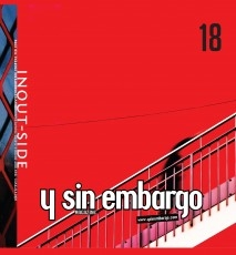 Y SIN EMBARGO magazine #18, inout side