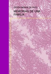 MEMORIAS DE UNA FAMILIA