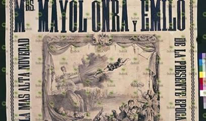Mrs. Mayol Onra y Emilio Circo y Teatro de Price