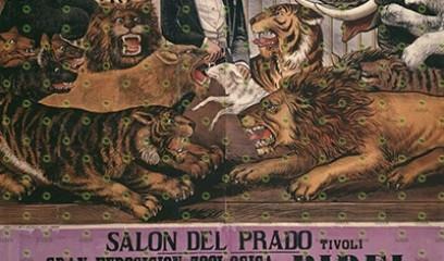Gran exposición zoológica Bidel Salon del Prado Tivoli
