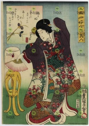 Afición a la danza : Nijushiko imayo bijin. Odorizuki