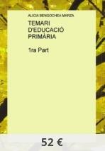 TEMARI  D'EDUCACIÓ PRIMÀRIA   1ra Part