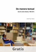 De manera textual. Escrits sobre disseny 1985-2015