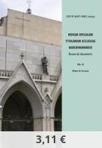 Novum Speculum Titulorum Ecclesiae Barchinonensis. Vol. III Bisbat de Terrassa